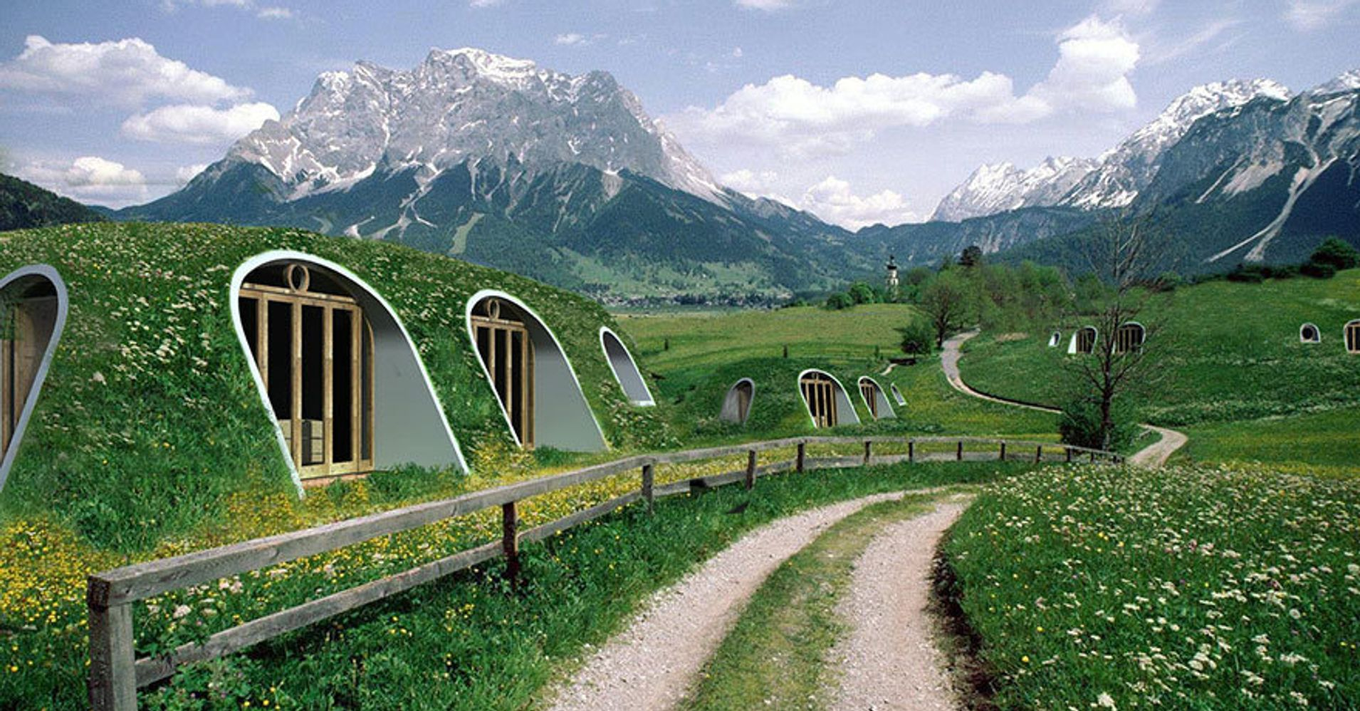 Lord Of The Rings Fans, Rejoice! You Can Now Live In A Hobbit-Hole ...