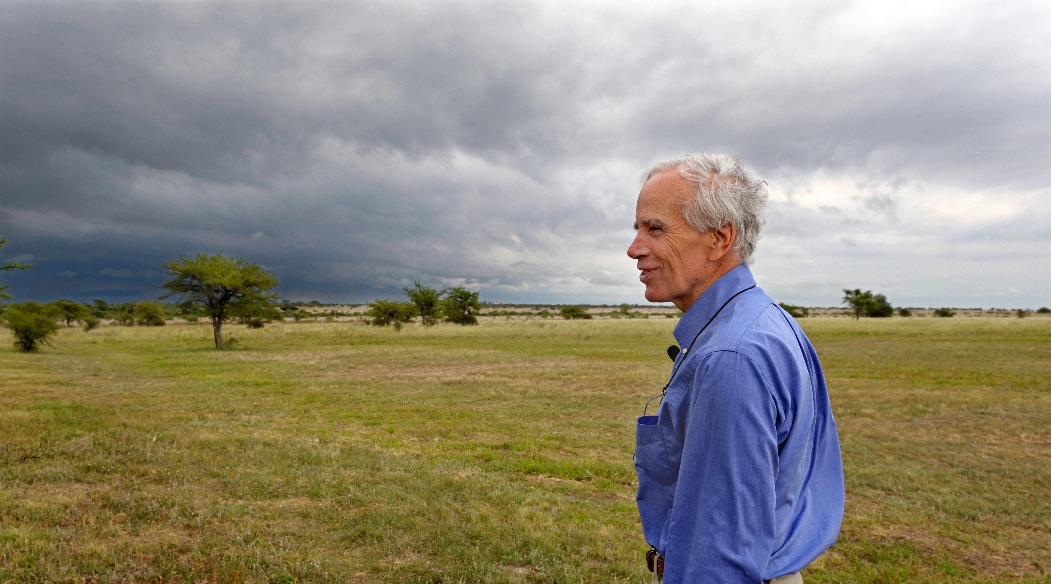 U.S. billionaire Douglas Tompkins poses in his property in Ibera, near Carlos Pellegrini in Corrientes Province, Argentina, o
