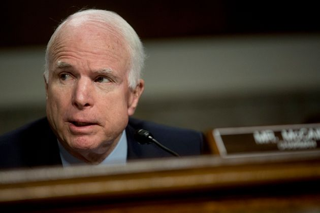John McCain served for six terms in the U.S.