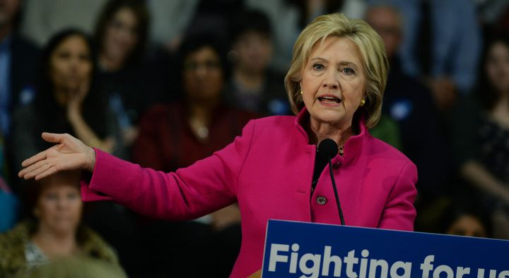 Democratic president candidate Hillary Clinton announced new tax-related proposals at a town hall in Iowa Wednesday.