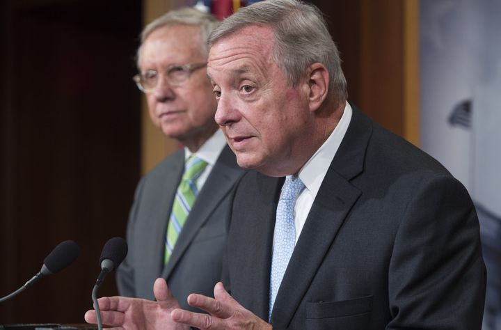 Sen. Dick Durbin (D-Ill.) warned of the impact more crude oil exports could have on petroleum refiners, of which there are pl