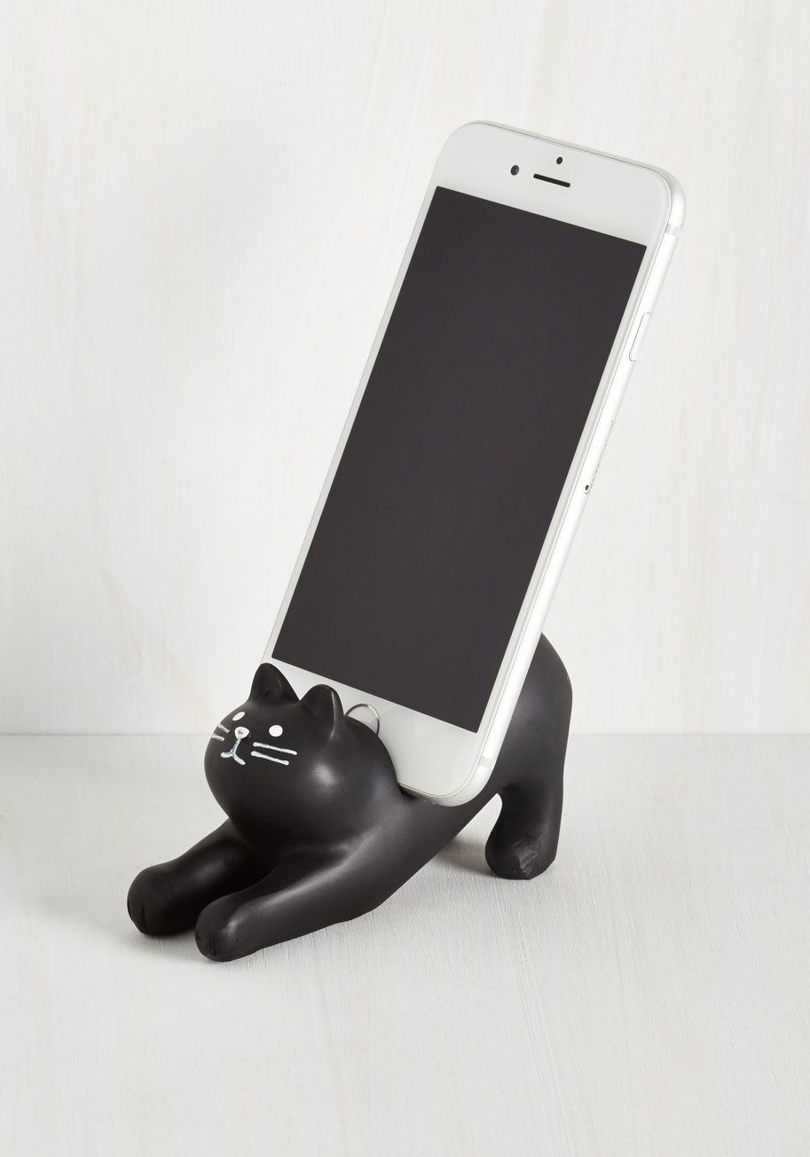 Youu0027ve Gato Call Phone Stand $21.99u0026nbsp;u003ca hrefu003d & 14 Purrfect Gifts For Cat Lovers | HuffPost
