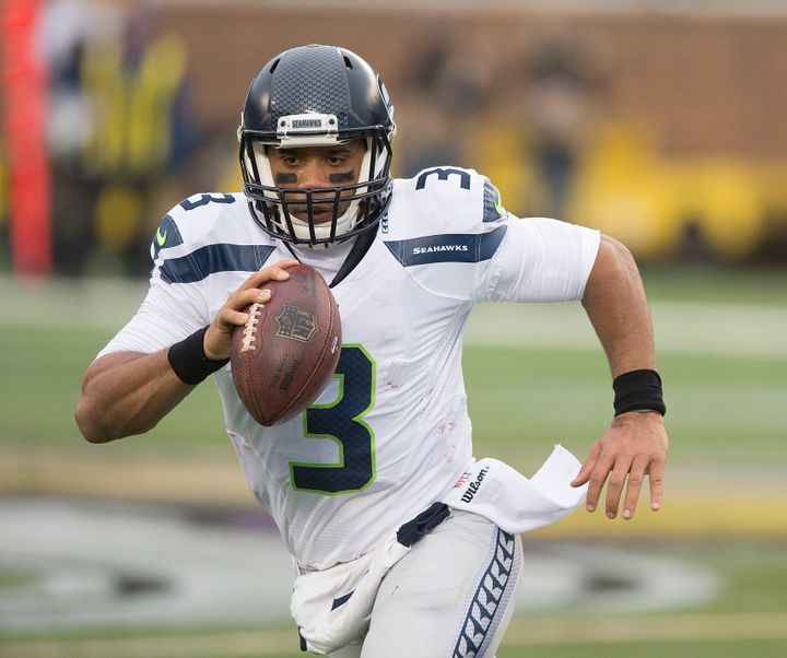 Over the past three games, 27-year-old quarterback Russell Wilson has completed 77 percent of his passes to go along with 11