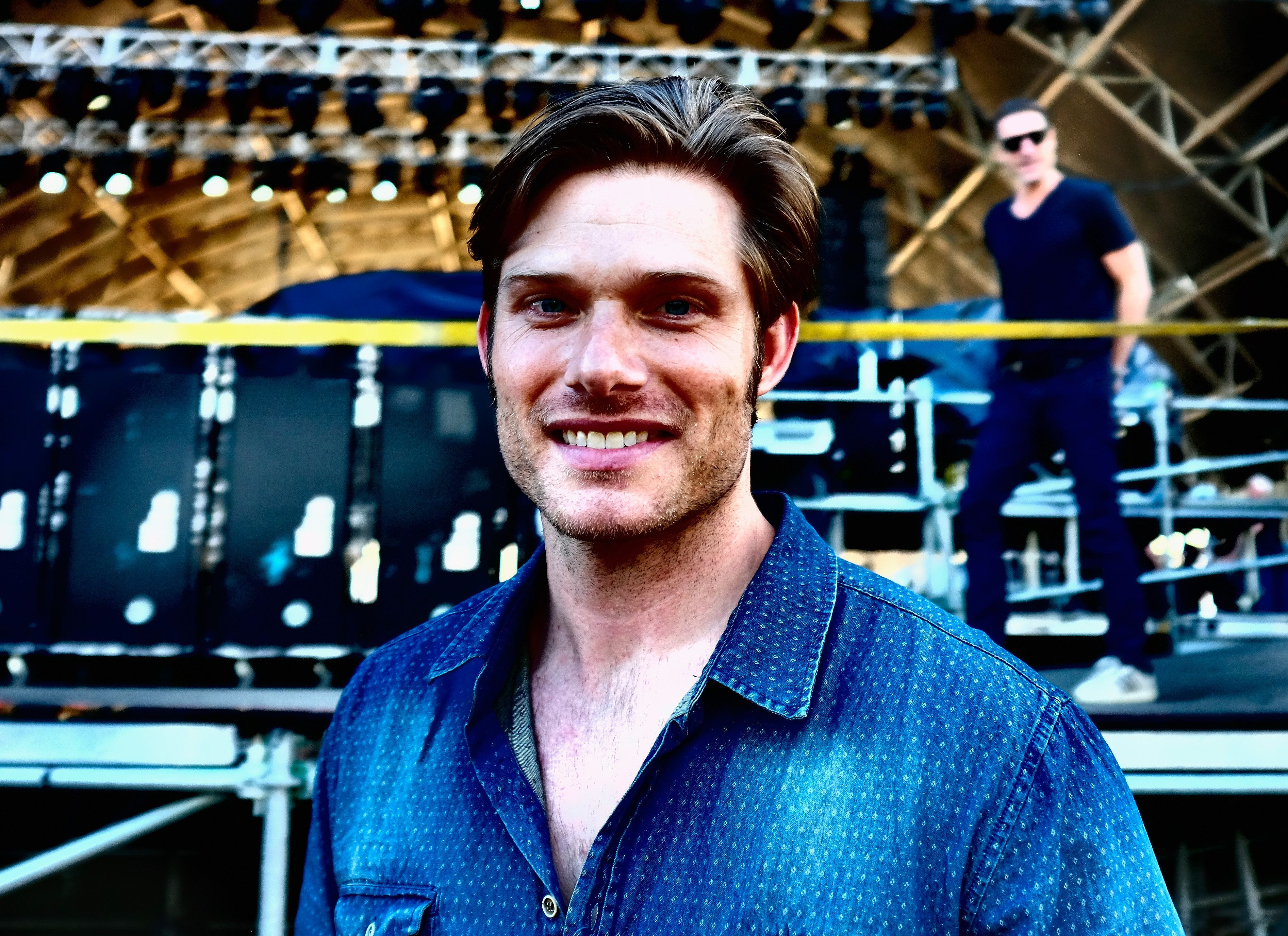 INDIO, CA - APRIL 26:  ( Editors Note; Image created using incamera filtes). Musician Chris Carmack attends The 2015 Stagecoach California's Country Music Festival at The Empire Polo Club on April 25, 2015 in Indio, California.  (Photo by Frazer Harrison/Getty Images for Stagecoach)