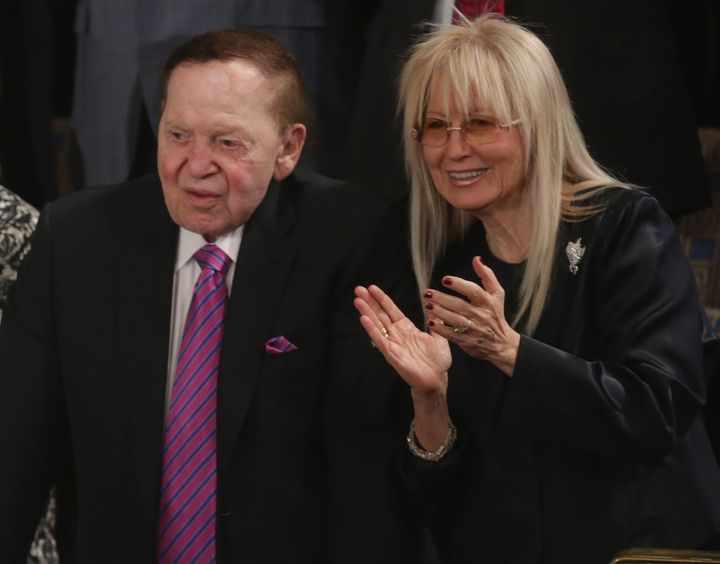 Sheldon and Miriam Adelson are two of the biggest Republican Party donors sought by the party's presidential aspirants.