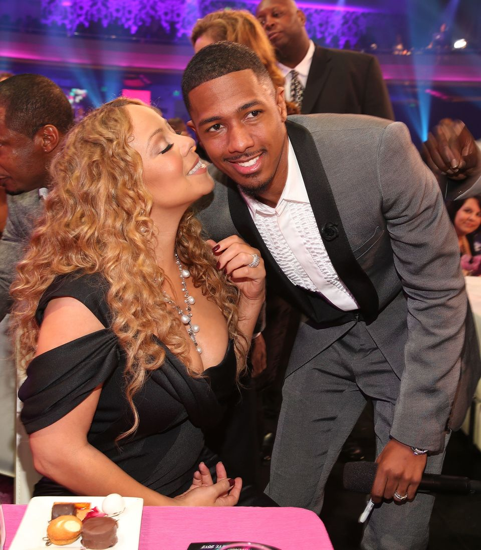 "Cannon once <a href=""http://www.tmz.com/2012/12/11/nick-cannon-mariah-carey-sex-music-hero/"">admitted that he made love to es"