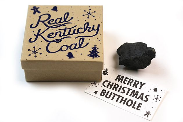 Lump Of Coal For Christmas.Get That Jerk In Your Life A Real Lump Of Coal This