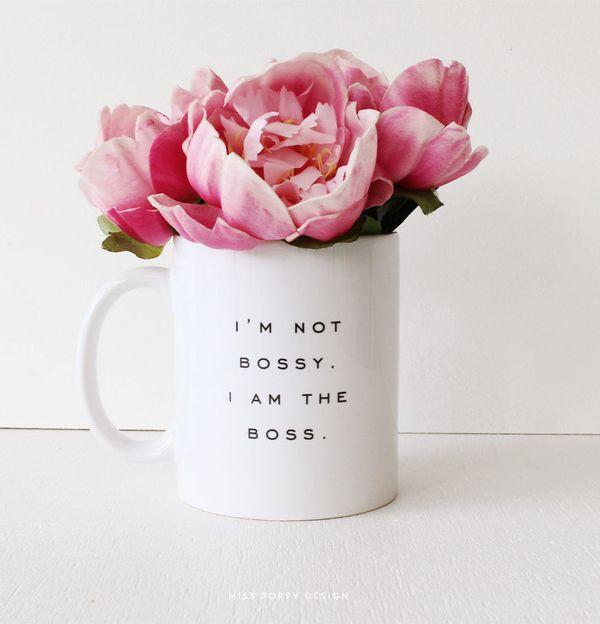"Bossy Mug, $16.47 at <a href=""https://www.etsy.com/listing/194792387/bossy-ceramic-mug?ga_order=most_relevant&amp;ga_search_t"