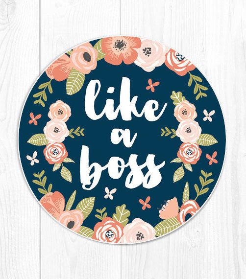 "Like A Boss Mousepad, $12 at <a href=""https://www.etsy.com/listing/258184489/mouse-pad-gift-for-coworker-gift-for?ga_order=mo"