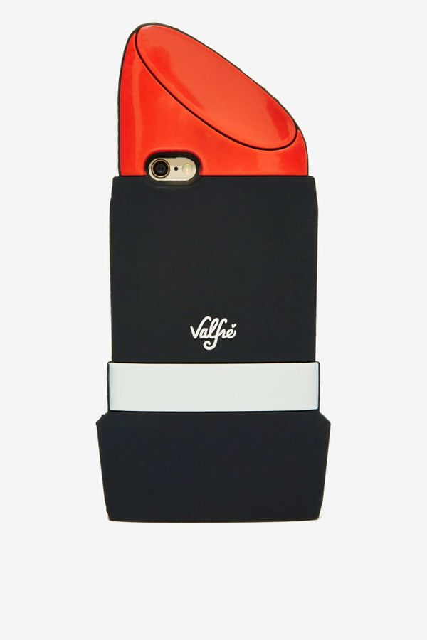 "Lipstick iPhone Case, $38 at <a href=""http://www.nastygal.com/all-gifts/valfr%C3%A9-lip-service-iphone-6-case"" target=""_blank"