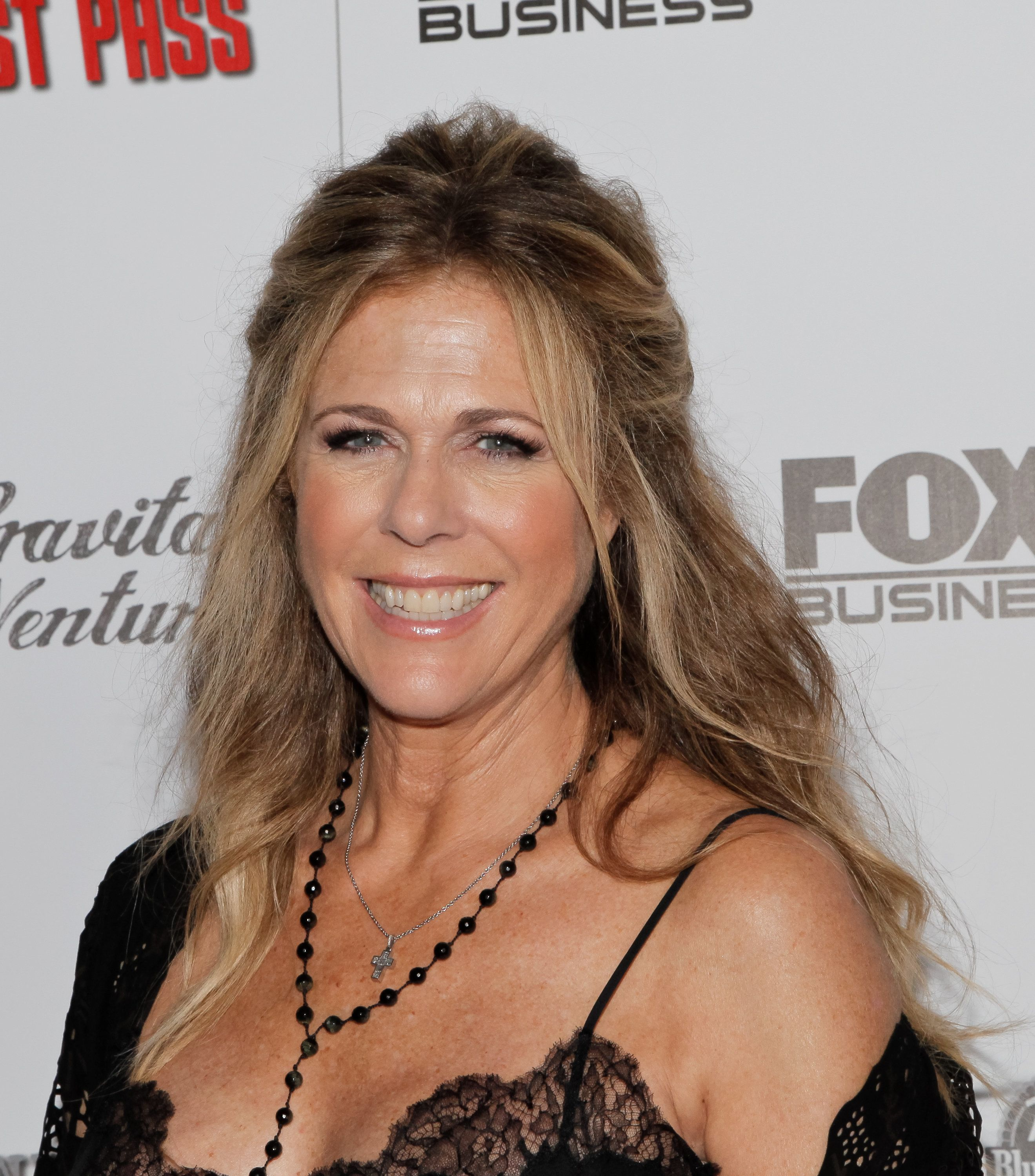 LOS ANGELES, CA - OCTOBER 15:  Rita Wilson attends the premiere of 'All Things Must Pass' at Harmony Gold Theatre on October 15, 2015 in Los Angeles, California.  (Photo by Tibrina Hobson/FilmMagic)