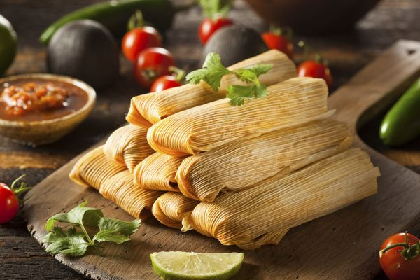 Tamales are holiday staples in many parts of Latin America. Because making tamales can be pretty time consuming, many pe