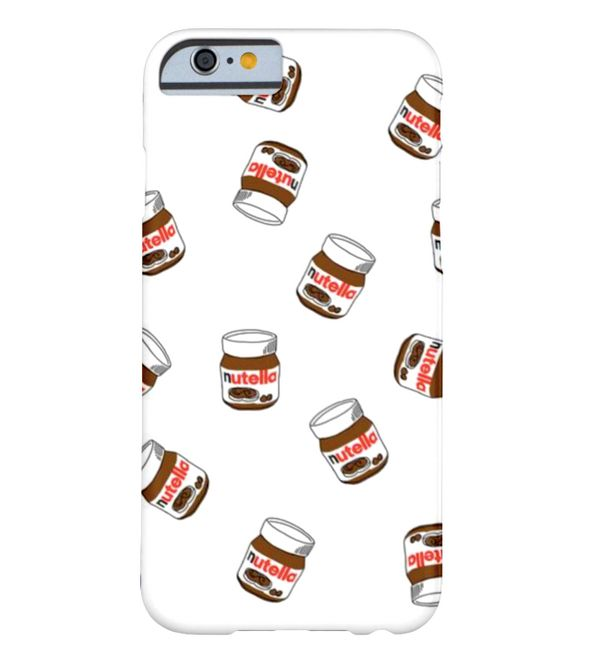 "Nuetlla iPhone Case, $42.20 at <a href=""http://www.zazzle.com/nutella_phone_case_barely_there_iphone_6_case-17919583591808993"