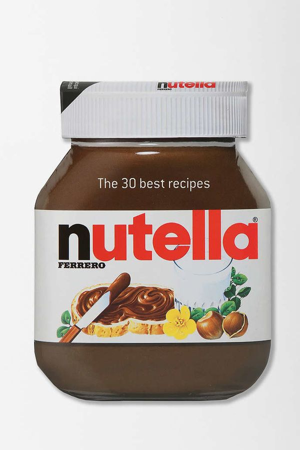 "<strong></strong><i>Nutella: The 30 Best Recipes</i> by Ferrero, $12.50 at <a href=""http://www.urbanoutfitters.com/urban/cat"