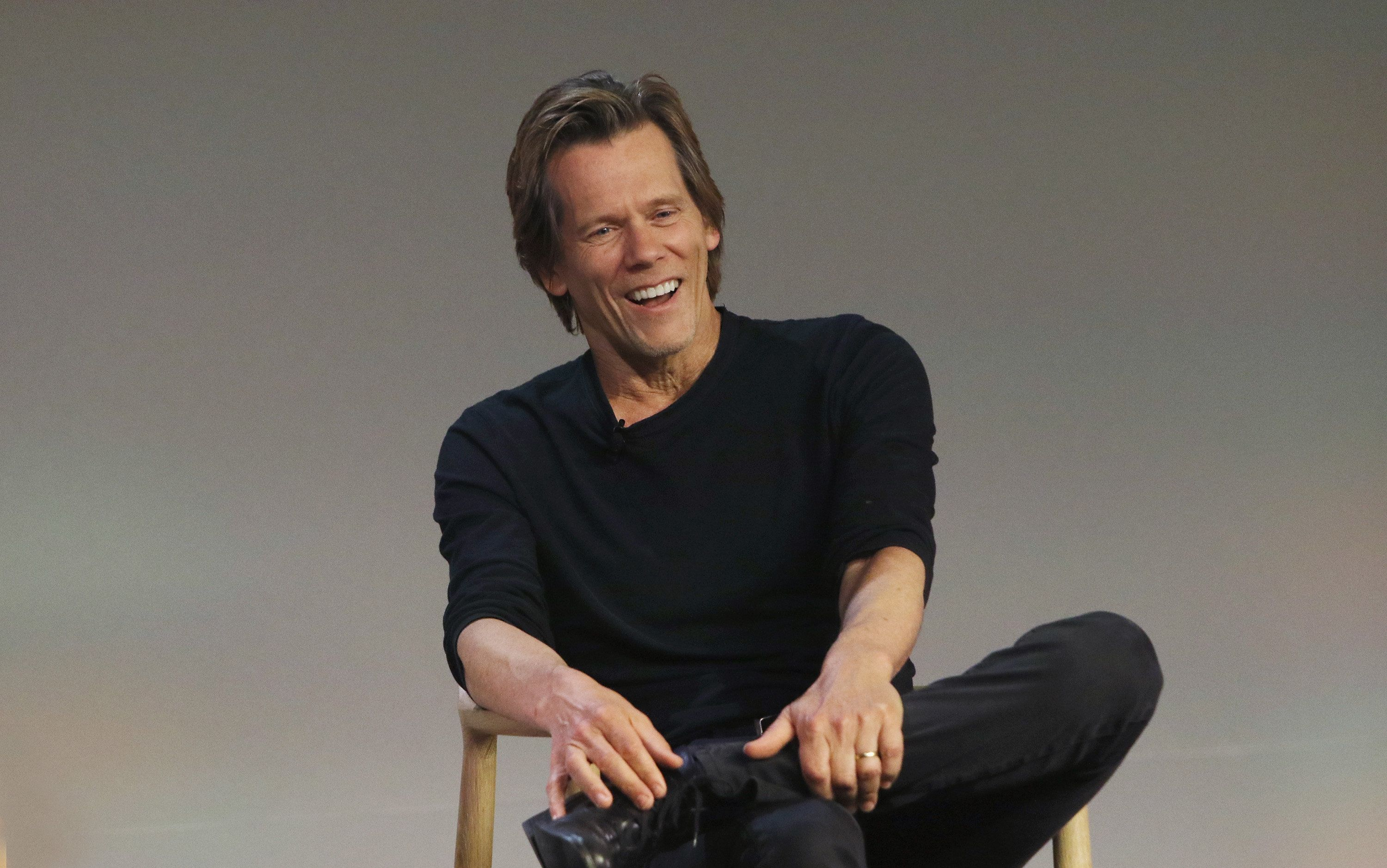 NEW YORK, NY - JULY 29:  Actor Kevin Bacon attends the Apple Store Soho presents Meet the Filmmaker: Kevin Bacon, 'Cop Car' at Apple Store Soho on July 29, 2015 in New York City.  (Photo by Jim Spellman/WireImage)