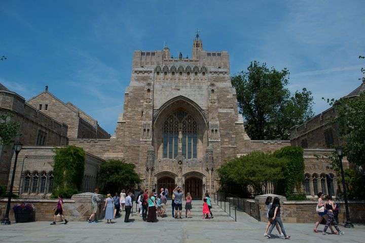 Sterling Memorial Library atYale University on Friday, June 12, 2015. An internal investigation by the university