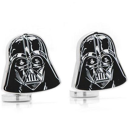 """Darth Vader Cufflinks, <a href=""""http://www.amazon.com/Officially-Licensed-Darth-Vader-Cufflinks/dp/B006HYJ5YK?tag=thehuffingt"""