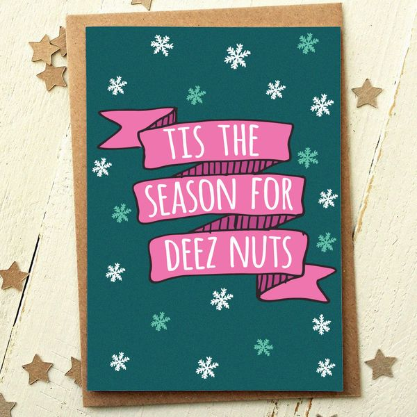 Flirty Holiday Cards Guaranteed To Land You On The Naughty