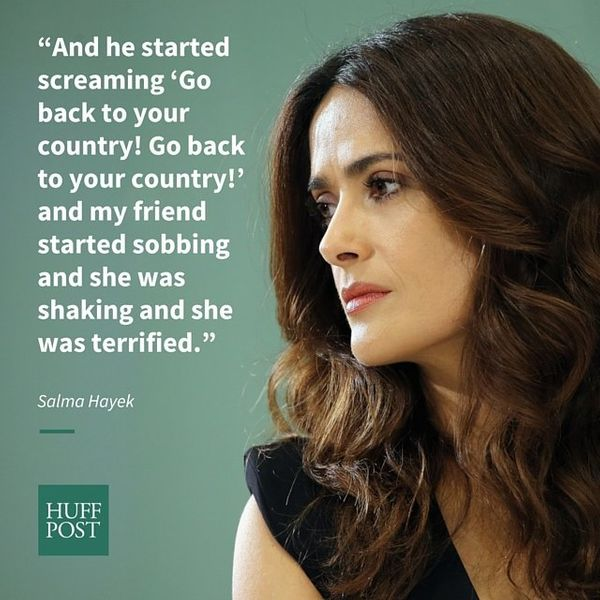 "During a HuffPost Live interview in August, the actress was <a href=""https://www.huffpost.com/entry/salma-hayek-discriminated"