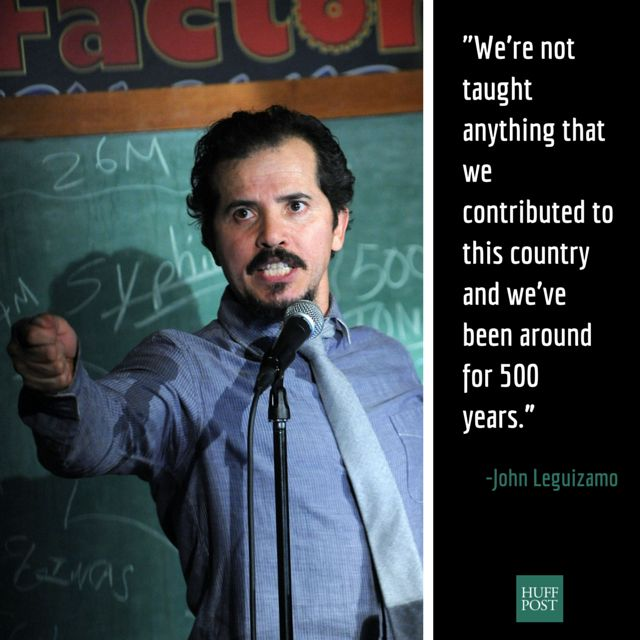 "In a conversation <a href=""http://live.huffingtonpost.com/r/segment/john-leguizamo-live/55b1159678c90ac6bd0002e3"">with HuffPo"