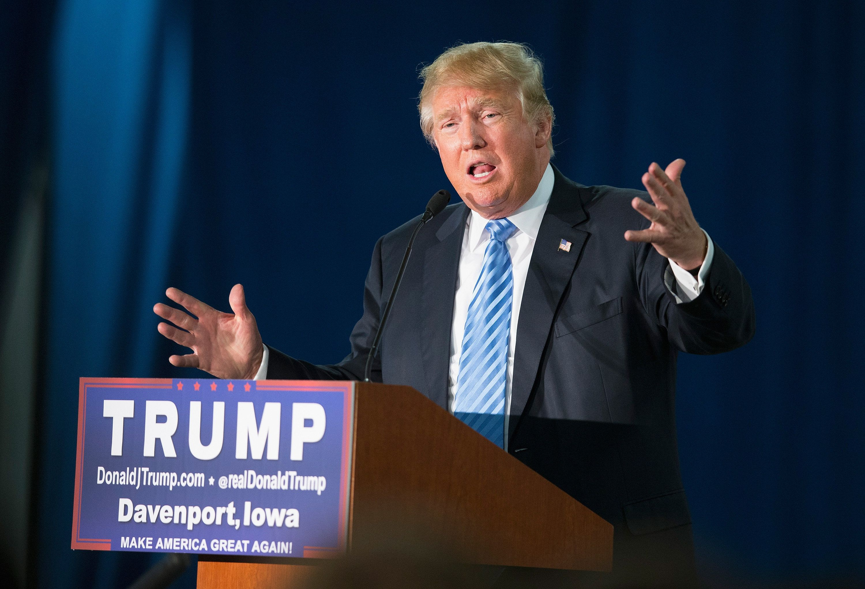 Nearly sixin 10Americans oppose Donald Trump's plan to ban Muslims from entering the U.S.