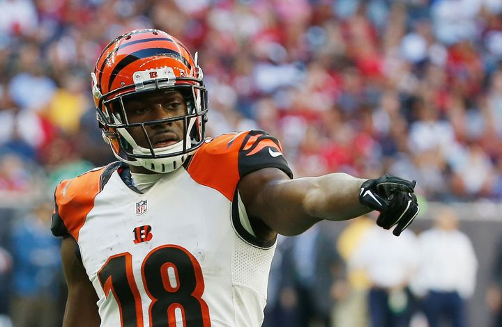 Bengals wide receiver A.J. Green ranks fifth in the NFL in receiving this season to go along with eight touchdown catches, an