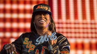 PEMBERTON, BC - JULY 19:  Missy Elliott performs at the Pemberton Music Festival on July 19, 2015 in Pemberton, Canada.  (Photo by Rob Loud/WireImage)