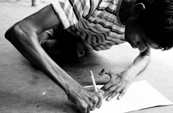 """""""I end up competing with my own disability,"""" Jadugoda nativeDuniya Oraon said."""