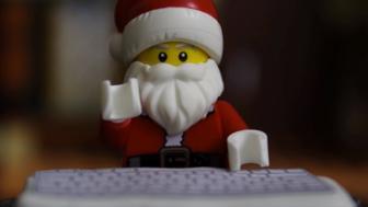 The stop-motion video sees Elvin Snowin leaking Santa's naughty list