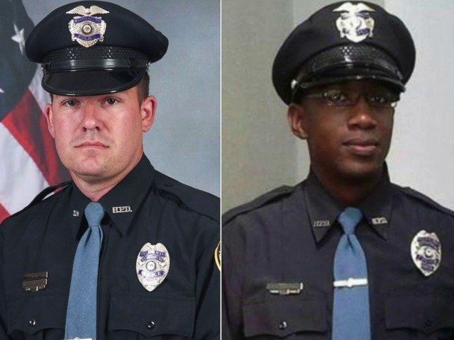 Benjamin J. Deen (left) and Liquori Tate were killed during a routine traffic stop on May 9. Their killer, Marvin B
