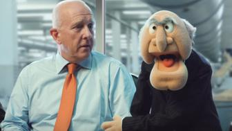 The Muppets have gone all English in their latest commercial