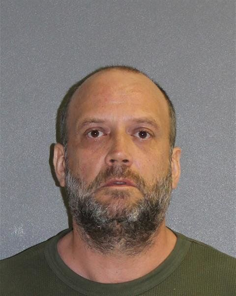 Jasper Harrison, 47, allegedly called 911 on himself after becoming paranoid about possible police activity outside his illegal marijuana grow house.