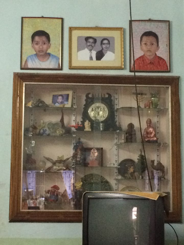 The family bungalow in Nagercoil, Tamil Nadu, where Udayakumar lives with his wife, a school teacher, and two sons.