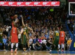Westbrook With The Off-The-Back-Of-The-Defender Buzzer-Beater