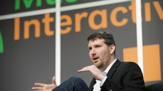AUSTIN, TX - MARCH 10:  Eli Pariser CEO, Upworthy speaks onstage at 'Do Algorithms Dream of Viral Content?' during the 2014 SXSW Music, Film + Interactive Festival at Austin Convention Center on March 10, 2014 in Austin, Texas.  (Photo by Jon Shapley/Getty Images for SXSW)