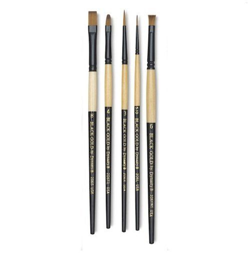 You can't use watercolors without good brushes, and the brush that comes with a set of paints rarely does the trick. Especial