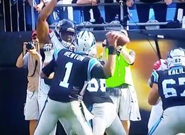 This Cam Newton Touchdown Pass Is Almost Too Precise To Believe