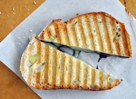 "<strong>Get the <a href=""http://www.justataste.com/2011/09/chocolate-and-brie-panini/"" target=""_hplink"">Chocolate and Brie Pa"