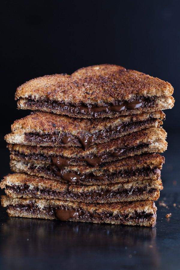 "<strong>Get the <a href=""http://www.halfbakedharvest.com/5-minute-grilled-cinnamon-toast-chocolate/"">Grilled Cinnamon Toast W"
