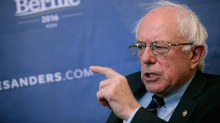 Democratic presidential candidate Sen. Bernie Sanders (I-Vt.)