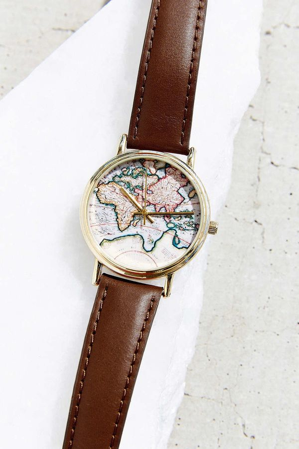 """Around The World LeatherWatch, $34 at <a href=""""http://www.urbanoutfitters.com/urban/catalog/productdetail.jsp?id=221958"""