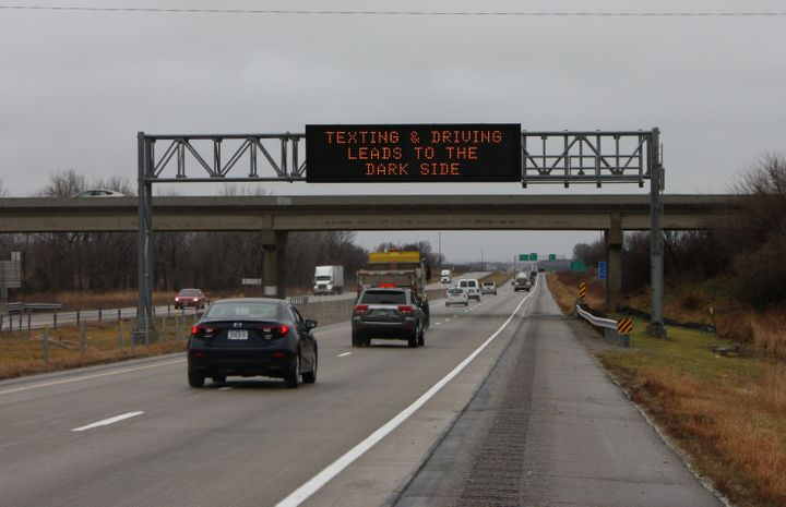 If you text and drive, the Galactic Empire wins.