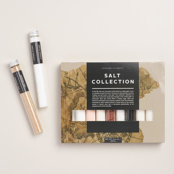 "Salt of the Earth 10-Piece Sampler Set, $12.99 at <a href=""http://www.worldmarket.com/product/salt+of+the+earth+10-piece+samp"