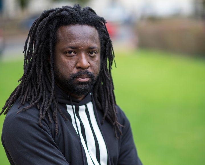 Marlon James at the Cheltenham Literature Festival on October 10, 2015