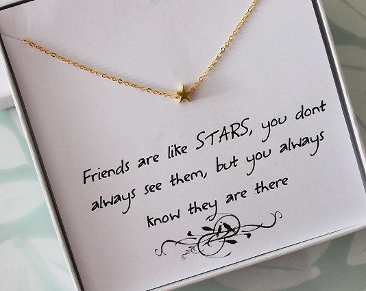 Etsy Friendship Necklace