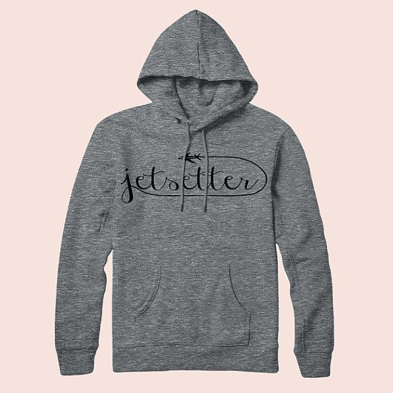"""Jetsetter Pullover Hoodie, $48 at <a href=""""https://www.etsy.com/listing/210595377/jetsetter-pullover-hoodie-american?ga_order"""