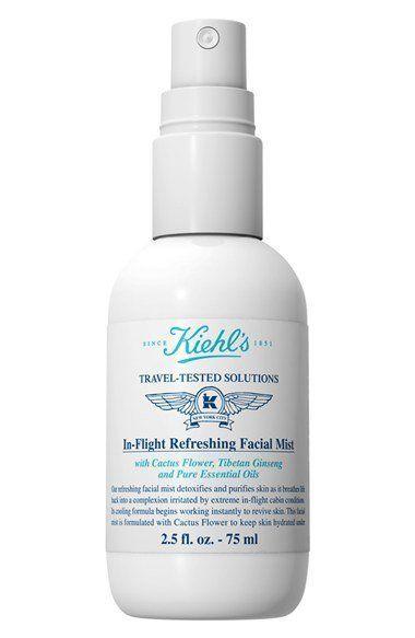 """Kiehl's In-Flight Refreshing Facial Mist, $12.60 at <a href=""""http://shop.nordstrom.com/s/kiehls-since-1851-in-flight-refreshi"""