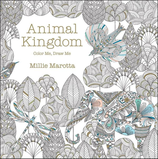 One Of The Illustrators Whos Hit It Big With Adult Coloring Book Trend Millie