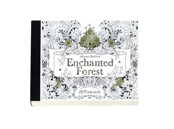 Johanna Basford's lush pen-and-ink designs have taken the adult coloring world by storm, and they're available in a variety o