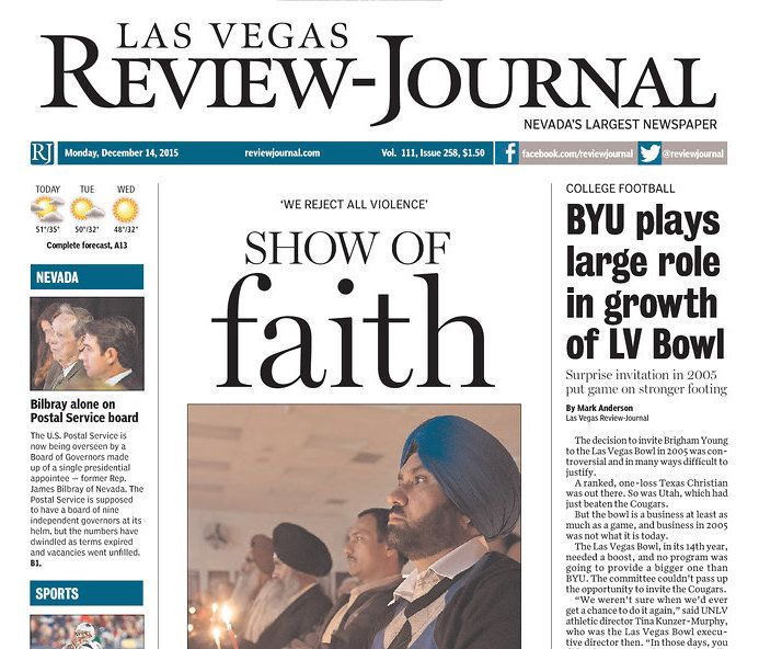 Las Vegas Review-Journal staffers tweeted their frustration Monday with the paper's new owner remaining secret